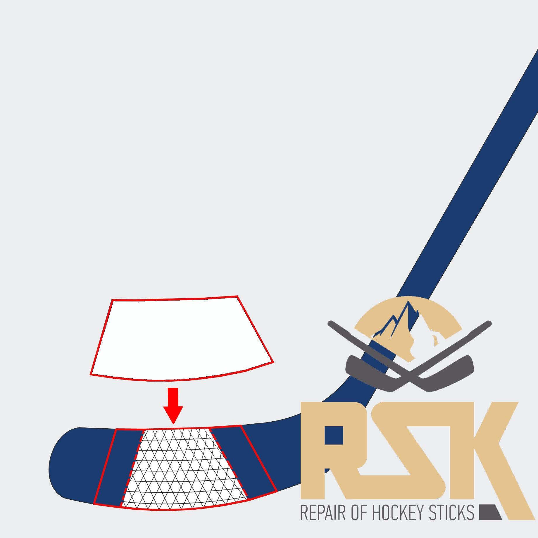 Ремонт клюшки для хоккея своими руками 95